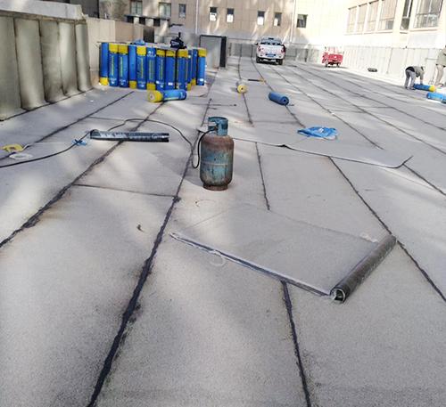 屋頂做防水