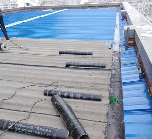 蘭州彩鋼屋面防水